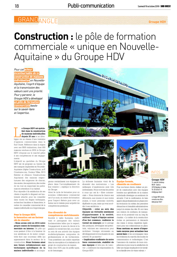 Actu SO9 Habitat Article Sud-Ouest